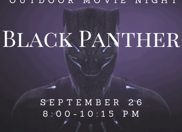 In-Person Outdoor Movie Night: Black Panther