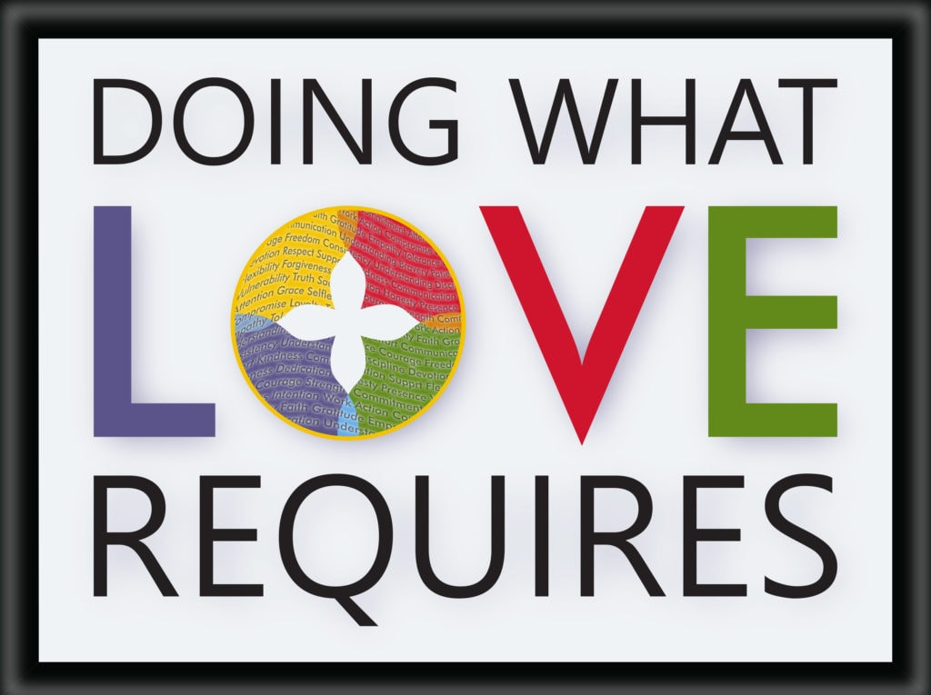 Doing what love requires
